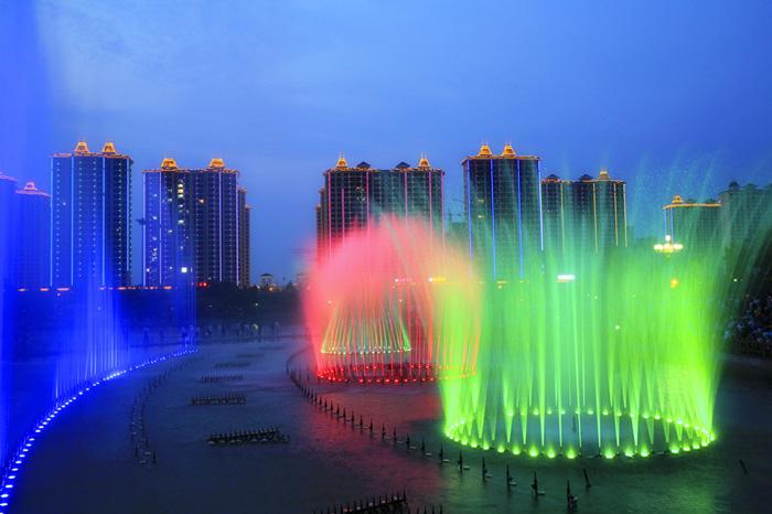 雷火下载2018年公园、广场喷泉开放时间
